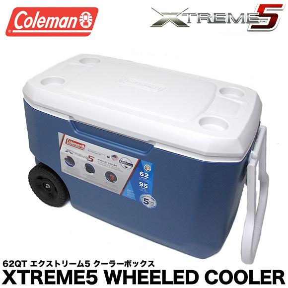 送料無料 コールマン COLEMAN クーラーボックス 62QT 3000004025 エクストリーム クーラーボックス 大容量58.7L XTREME COOLERS BOX アウトドア キャンプ 運動会 釣り フィッシング メール便不可