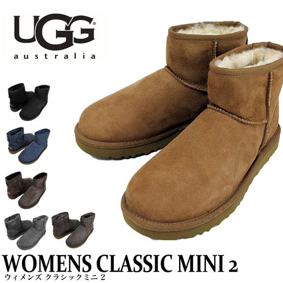 UGG ムートンブーツ WOMENS CLASSIC MINI II アグ オーストラリア クラシックミニ2 レディース 1016222