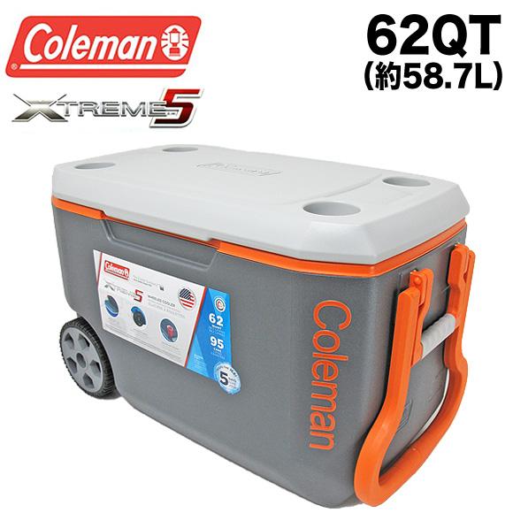 送料無料 コールマン COLEMAN クーラーボックス 62QT 3000004485 エクストリーム クーラーボックス 大容量58.7L XTREME COOLERS BOX アウトドア キャンプ 運動会 釣り フィッシング メール便不可