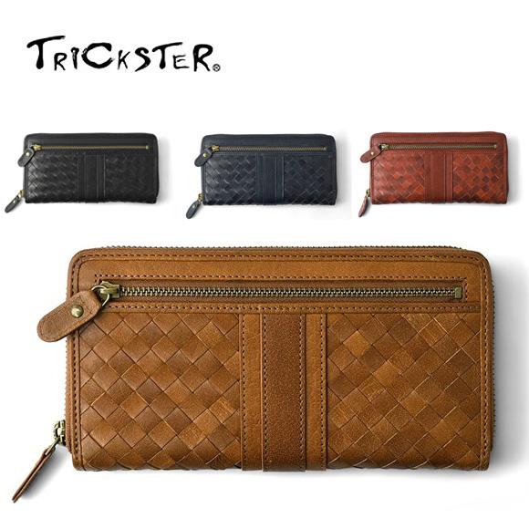 TRICKSTER トリックスター メッシュレザーロングウォレットtr7002 NOBLE Collection ノーブルコレクション