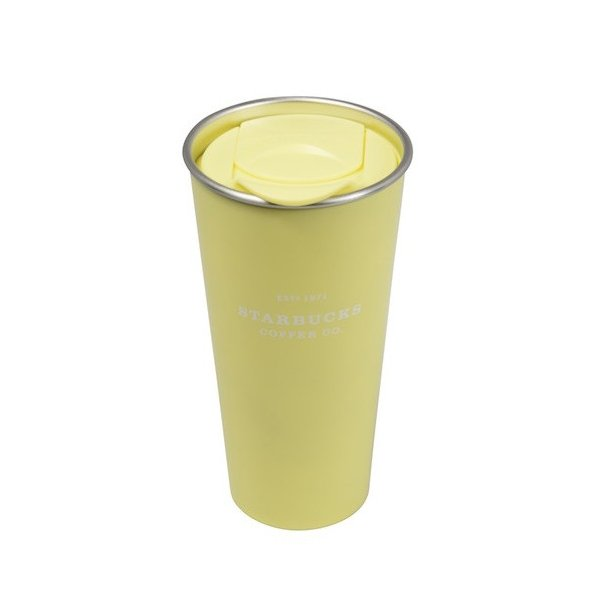 29923fdce69 473 ml of Starbucks Starbucks 2018 pastel collection stainless steel TOGO tumbler  yellow (butter yellow ...
