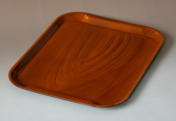 36 厘米滑 PET 树脂防滑托盘尺寸: 眼睛桦木 (OPP pkg) 站-防滑-)、 洗碗机、 干衣机、 微波-安全 (纸盒纸盒) 001-1663fs2gm