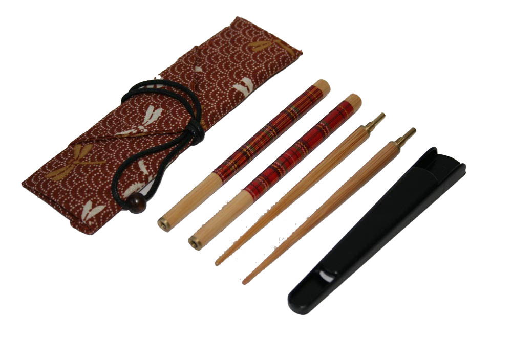 送料無料 マイ箸 がセットでお買い得 マイ箸セットAチェック赤001-125 倉庫 つなぎ箸赤箸袋箸キャップ 注目ブランド
