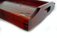 나무 트레이 후지산 형 세로 추석 51cm (추석, 트레이) 001-011, hanMarathon10P03nov12fs2gm