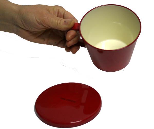 盖杯红 ミアクッチーナ 微波炉,洗碗机机盖杯) 001-647 fs2gm 兼容