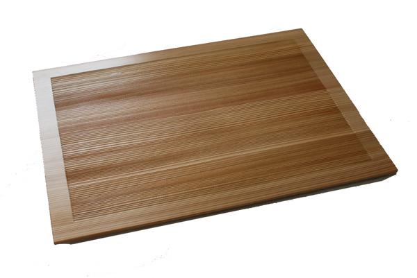 Akita Odate industrial arts company cedar board low dining table natural  42cm 001-1124 (No4210) (product made in Akita cedar domestic production  Japan