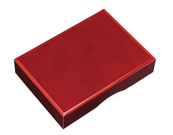 紀州漆器 木製 加伏文庫 1 1.0 春慶塗 22747b/21829b(書類入れ 書類整理箱)