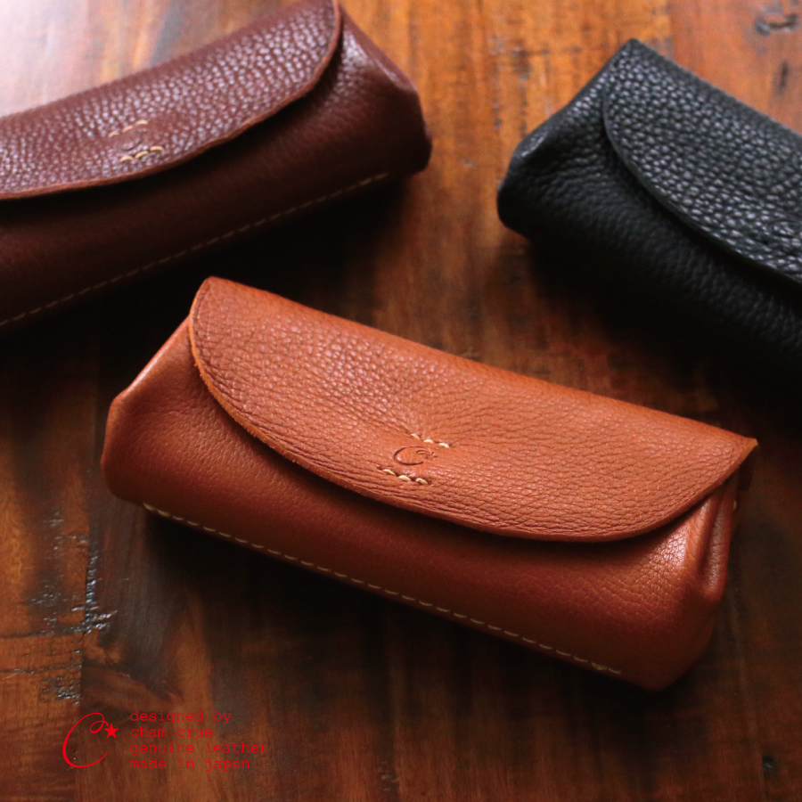 Cham NEWCLASSIC PLUMP WALLET 姫路レザー 長財布 ウォレット ポシェット レディーズ レザー コインケース付き ロングウォレット 本革 さいふ 人気 ギフト 誕生日プレゼント お祝い 入学祝 就職祝 プレゼント ギフト 【送料無料】