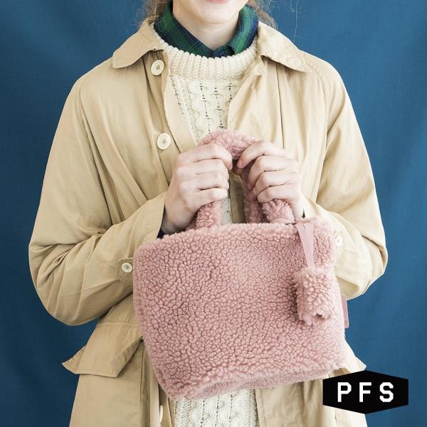 PFS Teddy Tote Bag トートバック 正規品送料無料 フェネック レディース ふわふわ もこもこ 韓国ファッション おしゃれ かわいい ミニバッグ コンパクト ☆国内最安値に挑戦☆ フリース 誕生日プレゼント ボア