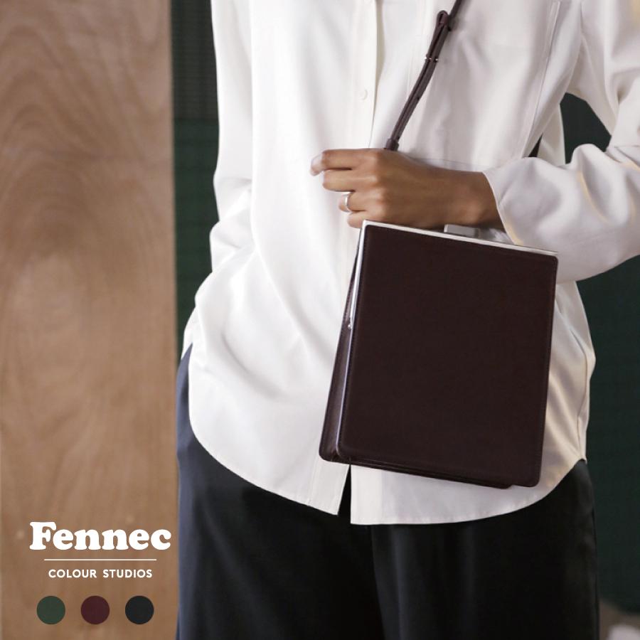 《 2019年新作 》 Fennec Frame Bag レディース ショルダーバッグ ミニバッグ 斜めがけ おしゃれ かわいい シンプル 通勤鞄 ミニバッグ レザー 韓国ファッション 韓国ブランド 娘 誕生日プレゼント 【送料無料】