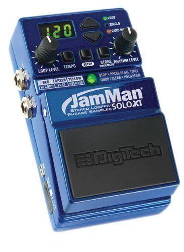 【レビューを書いて次回送料無料クーポンGET】DigiTech JamMan Solo XT エフェクター [並行輸入品][直輸入品]【デジテック】【Stompbox Looper with Stereo】【Phrase Sampler】【新品】