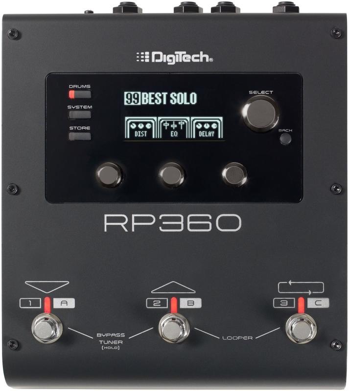 【レビューを書いて次回送料無料クーポンGET】DigiTech RP360 エフェクター [並行輸入品][直輸入品]【デジテック】【マルチエフェクト・プロセッサー】【Multi-Processor】【新品】