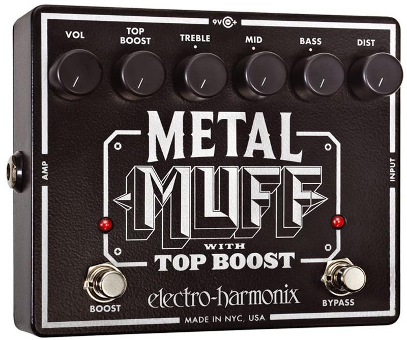 【レビューを書いて次回送料無料クーポンGET】Electro-Harmonix Metal Muff エフェクター [並行輸入品][直輸入品] 【エレクトロ・ハーモニクス】【ディストーション】【ElectroHarmonix】【Electro-Harmonix】【エレクトロハーモニクス】【新品】