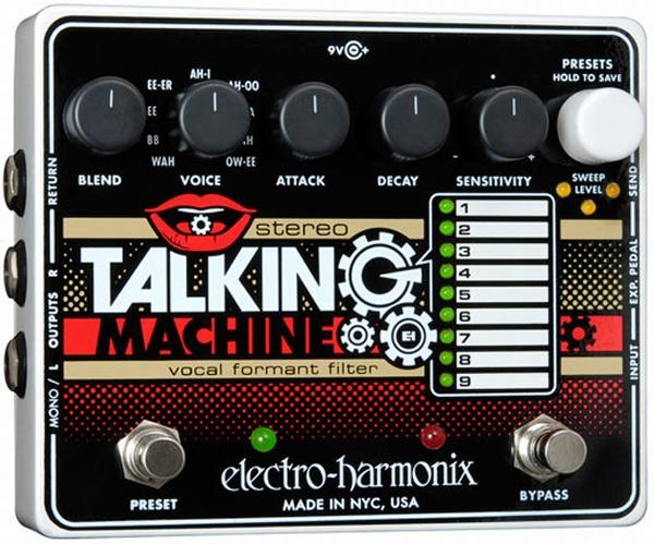 【レビューを書いて次回送料無料クーポンGET】Electro-Harmonix Stereo Talking Machine 国内用電源アダプター付属 エフェクター [並行輸入品][直輸入品]【エレクトロ・ハーモニクス】【トーキングモジュレーター】【エレクトロハーモニクス】【新品】