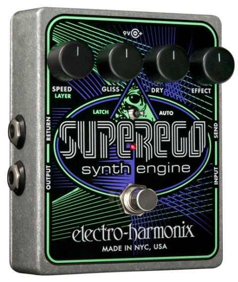 【レビューを書いて次回送料無料クーポンGET】Electro-Harmonix Superego 国内用電源アダプター付属 Synth Engine エフェクター [並行輸入品][直輸入品]【エレクトロ・ハーモニクス】【シンセ】【エレクトロハーモニクス】【Electro-Harmonix】【新品】