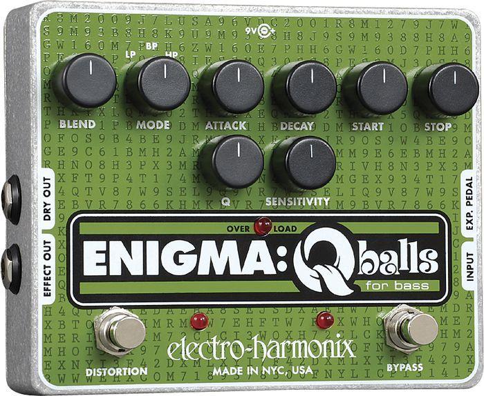 【レビューを書いて次回送料無料クーポンGET】Electro-Harmonix Enigma 国内用電源アダプター付属 エフェクター [並行輸入品][直輸入品] 【エレクトロ・ハーモニクス】【エンベロープ・フィルター】【オート・ワウ】【ギター】【新品】