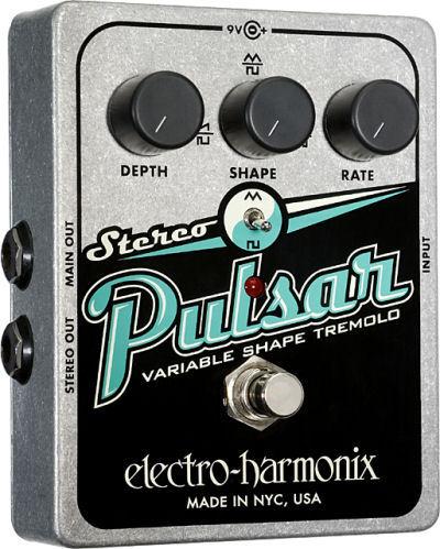 【レビューを書いて次回送料無料クーポンGET】Electro-Harmonix Stereo Pulsar エフェクター [並行輸入品][直輸入品]【エレクトロ・ハーモニクス】【トレモロ】【ElectroHarmonix】【Electro-Harmonix】【エレクトロハーモニクス】【新品】
