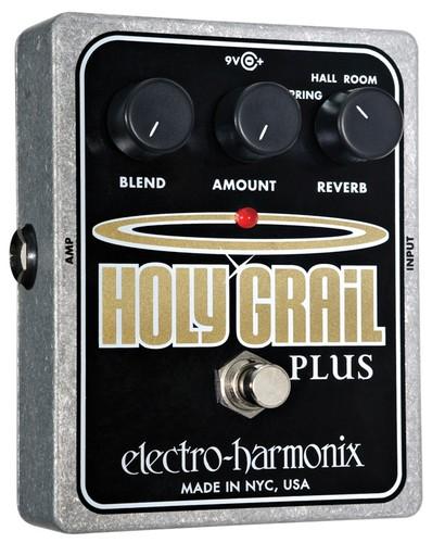 【レビューを書いて次回送料無料クーポンGET】Electro-Harmonix Holy Grail Plus 国内用電源アダプター付属 エフェクター [並行輸入品][直輸入品] 【エレクトロ・ハーモニクス】【リバーブ】【エレクトロハーモニクス】【新品】