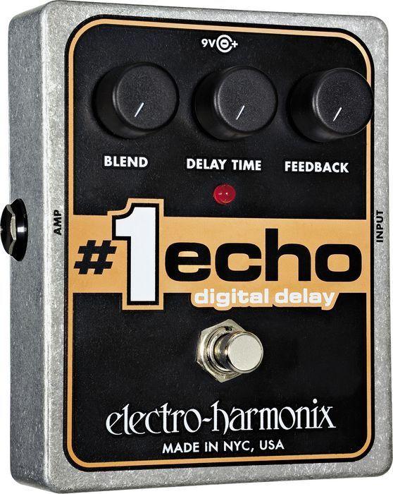 【レビューを書いて次回送料無料クーポンGET】Electro-Harmonix #1 ECHO 国内用電源アダプター付属 エフェクター [並行輸入品][直輸入品] 【エレクトロ・ハーモニクス】【コーラス】【ElectroHarmonix】【Electro-Harmonix】【エレクトロハーモニクス】【新品】