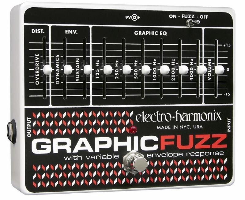 【レビューを書いて次回送料無料クーポンGET】Electro-Harmonix Graphic Fuzz 国内用電源アダプター付属 エフェクター [並行輸入品][直輸入品]【エレクトロ・ハーモニクス】【ElectroHarmonix】【Electro-Harmonix】【グラフィックファズ】【新品】