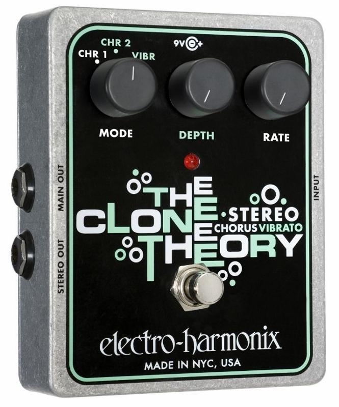 【レビューを書いて次回送料無料クーポンGET】Electro-Harmonix Stereo Clone Theory Chorus エフェクター [並行輸入品][直輸入品]【エレクトロ・ハーモニクス】【フランジャー】【ElectroHarmonix】【Electro Harmonix】【エレクトロハーモニクス】【新品】