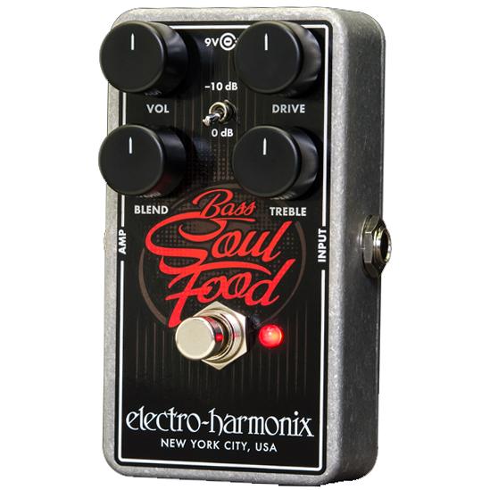 【レビューを書いて次回送料無料クーポンGET】Electro-Harmonix Bass Soul Food 国内用電源アダプター付属 エフェクター [並行輸入品][直輸入品] 【エレクトロ・ハーモニクス】【ElectroHarmonix】【Electro-Harmonix】【Micro Synth】【新品】