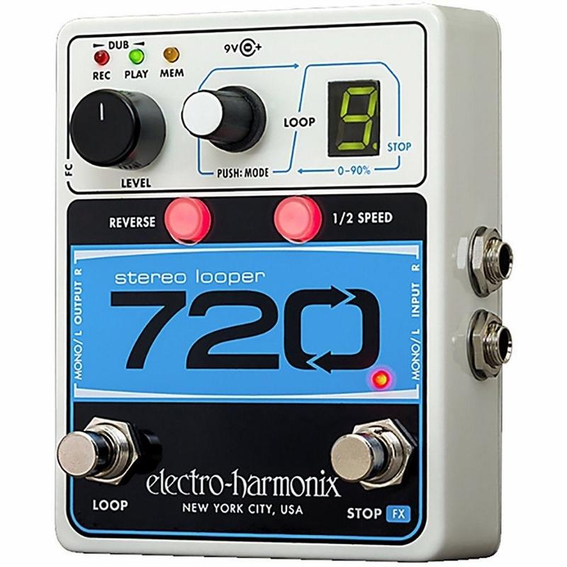 【レビューを書いて次回送料無料クーポンGET】Electro-Harmonix 720 国内用電源アダプター付属 Stereo Looper エフェクター [並行輸入品][直輸入品] 【エレクトロ・ハーモニクス】【コーラス】【エレクトロハーモニクス】【新品】