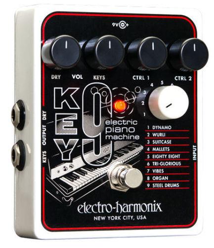 【レビューを書いて次回送料無料クーポンGET】Electro-Harmonix KEY9 国内用電源アダプター付属 Electric Piano Machine エフェクター [並行輸入品][直輸入品] 【エレクトロ・ハーモニクス】【エレクトロハーモニクス】【新品】