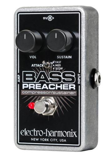 【レビューを書いて次回送料無料クーポンGET】Electro-Harmonix Bass Preacher エフェクター [並行輸入品][直輸入品] 【エレクトロ・ハーモニクス】【コンプレッサー】【エレクトロハーモニクス】【新品】