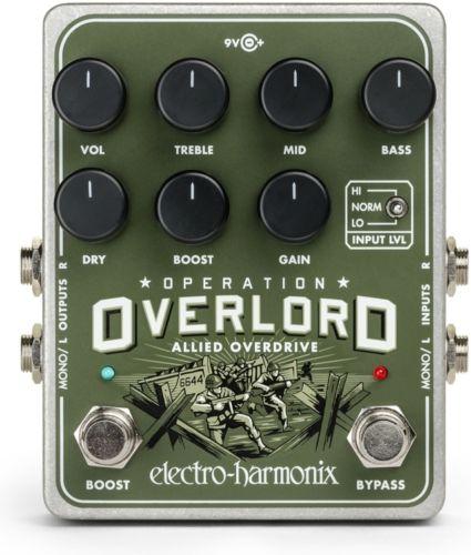 【レビューを書いて次回送料無料クーポンGET】Electro-Harmonix Operation Overlord 国内用電源アダプター付属 エフェクター [並行輸入品][直輸入品]【エレクトロ・ハーモニクス】【ElectroHarmonix】【Electro Harmonix】【エレクトロハーモニクス】【新品】