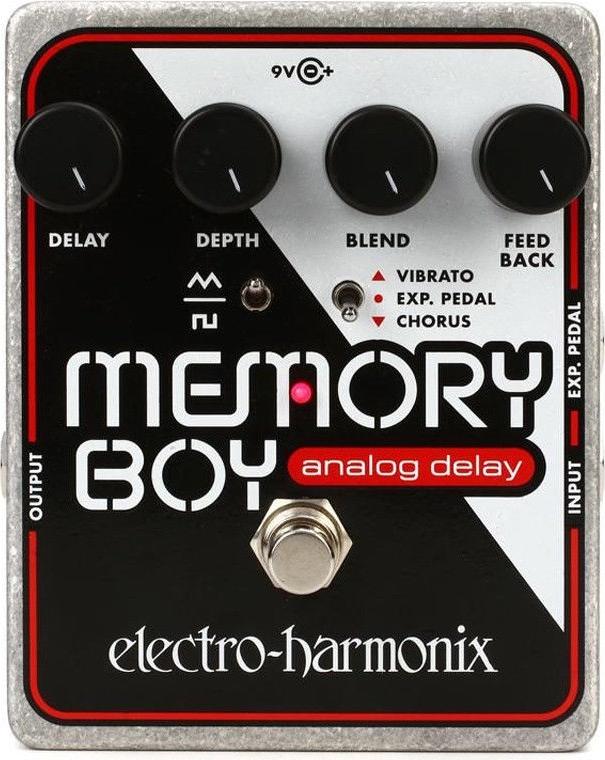 【レビューを書いて次回送料無料クーポンGET】Electro-Harmonix Memory Boy 国内用電源アダプター付属 エフェクター [並行輸入品][直輸入品] 【エレクトロ・ハーモニクス】【メモリーボーイ】【ElectroHarmonix】【Electro-Harmonix】【新品】