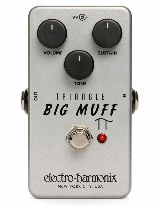 【レビューを書いて次回送料無料クーポンGET】Electro-Harmonix Triangle Big Muff Pi エフェクター [並行輸入品][直輸入品]【エレクトロ・ハーモニクス】【エレクトロハーモニクス】【Electro-Harmonix】【新品】
