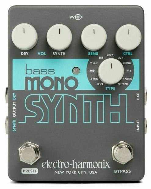 【レビューを書いて次回送料無料クーポンGET】Electro-Harmonix Bass Mono Synth 国内用電源アダプター付属 エフェクター [並行輸入品][直輸入品] 【エレクトロ・ハーモニクス】【Electro Harmonix】【新品】