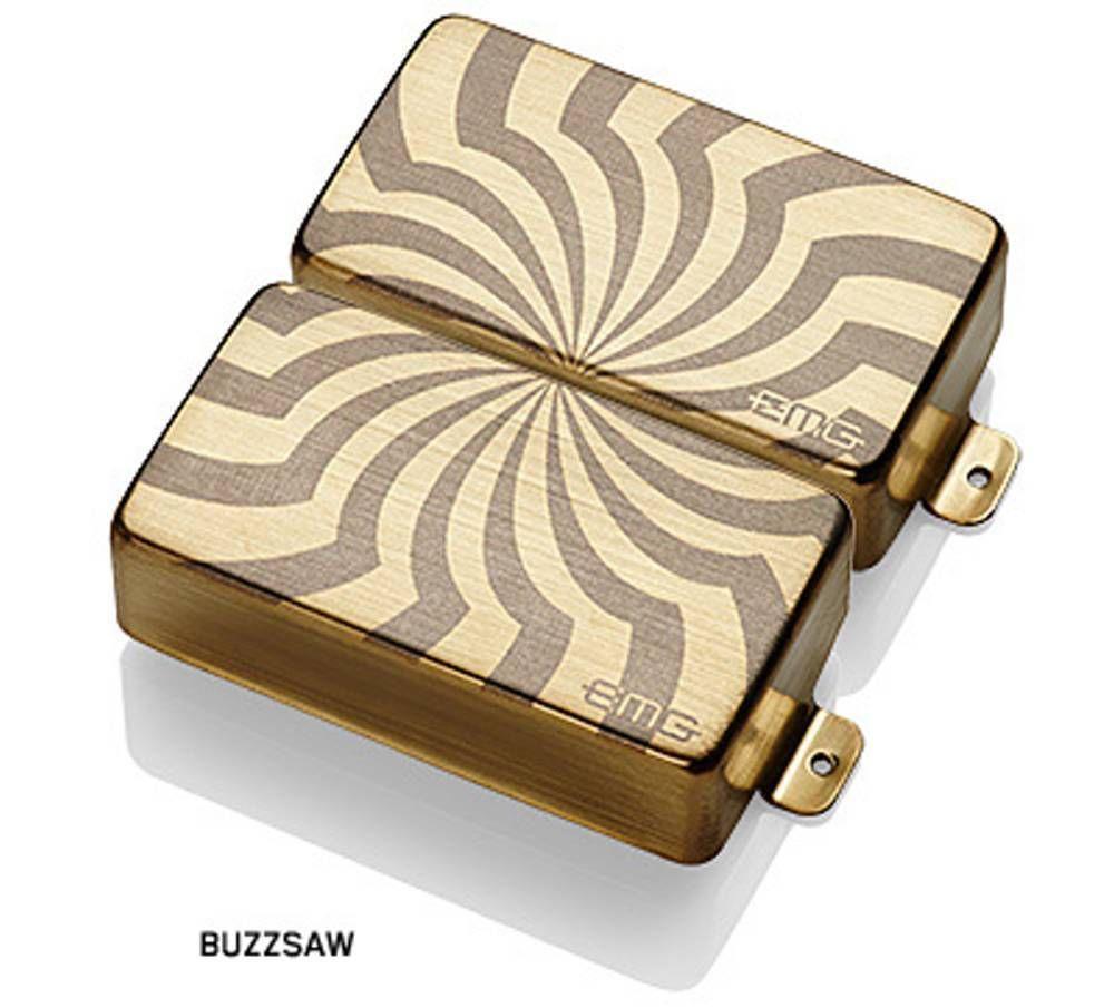 【レビューを書いて次回送料無料クーポンGET】EMG ZW Set LS BUZZSAW BRUSHED GOLD [並行輸入品][直輸入品]【Zakk Wylde Signature】【新品】【ギター用ピックアップ】