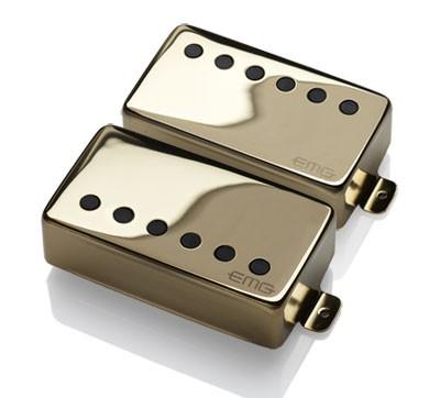 【レビューを書いて次回送料無料クーポンGET】EMG JH Set GOLD [並行輸入品][直輸入品]【Metallica James Hetfieldモデル】【新品】【ギター用ピックアップ】