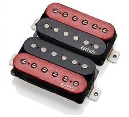 【レビューを書いて次回送料無料クーポンGET】EMG Fat 55 Humbucker Set - RED/Black [並行輸入品][直輸入品]【新品】 【ギター用ピックアップ】