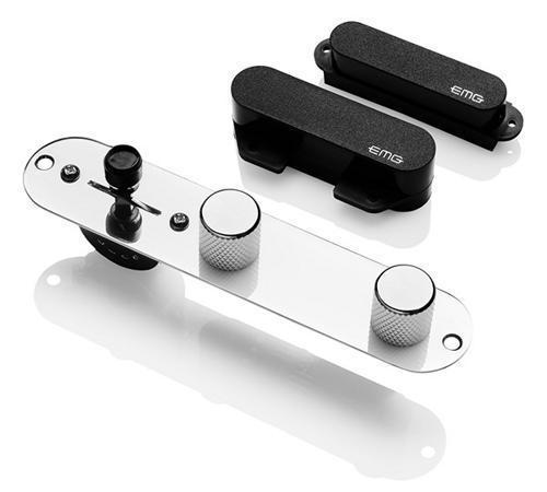 【レビューを書いて次回送料無料クーポンGET】EMG T System - Tele Pickup Set Black [並行輸入品][直輸入品]【新品】 【ギター用ピックアップ】