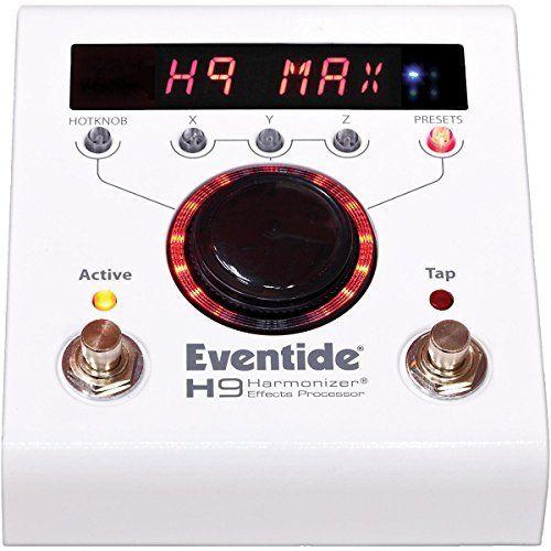 【レビューを書いて次回送料無料クーポンGET】Eventide H9 MAX 国内用電源アダプター付属 エフェクター [並行輸入品][直輸入品] 【イーブンタイド】【Processor】【Harmonizer Stompbox】【新品】