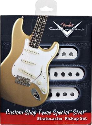 【レビューを書いて次回送料無料クーポンGET】Fender Custom Shop Texas Special Stratocaster Pickup set【フェンダー】【テキサススペシャル】【新品】【ギター用ピックアップ】
