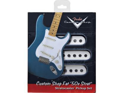 【レビューを書いて次回送料無料クーポンGET】Fender Custom Shop Fat '50s Stratocaster Pickup set【フェンダー】【新品】【ギター用ピックアップ】