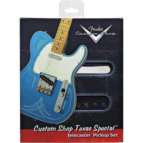 【レビューを書いて次回送料無料クーポンGET】Fender Custom Shop Texas Special Telecaster Pickup set【フェンダー】【テレキャスター用】【テキサススペシャル】【直流抵抗9.5K 10.5K】【アルニコV】【低~中出力】【新品】