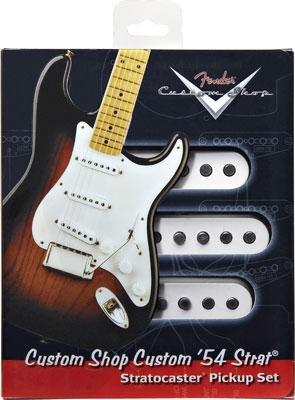 【レビューを書いて次回送料無料クーポンGET】Fender Custom Shop Custom '54 Stratocaster Pickups set【フェンダー】【新品】【ギター用ピックアップ】