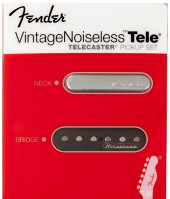 【レビューを書いて次回送料無料クーポンGET】Fender Vintage Noiseless Telecaster Pickup Set【フェンダー】【新品】【ギター用ピックアップ】