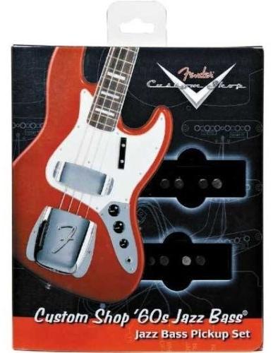 【レビューを書いて次回送料無料クーポンGET】Fender Custom Shop '60s Jazz Bass Pickup set【フェンダー】【テレキャスター用】【新品】【ギター用ピックアップ】
