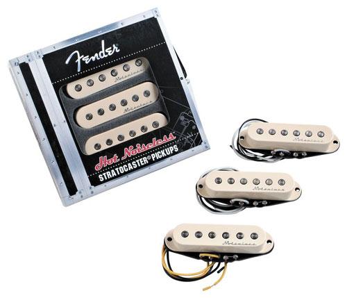 【レビューを書いて次回送料無料クーポンGET】Fender Hot Noiseless Stratocaster pickup set【フェンダー】【新品】【ギター用ピックアップ】