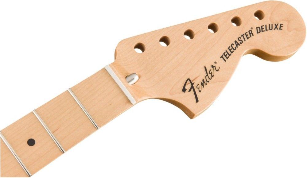 【レビューを書いて次回送料無料クーポンGET】Fender Classic Series 72 Deluxe Telecaster Neck w/ Maple 3-Bolt【フェンダー純正パーツ】【新品】