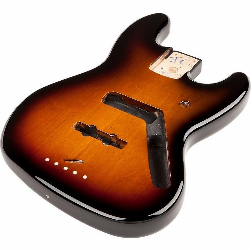 【レビューを書いて次回送料無料クーポンGET】Fender Jazz Bass Alder, Brown Sunburst【フェンダー純正パーツ】【新品】