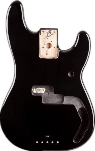 【レビューを書いて次回送料無料クーポンGET】Fender USA Precision Bass Alder, Black【フェンダー純正パーツ】【新品】