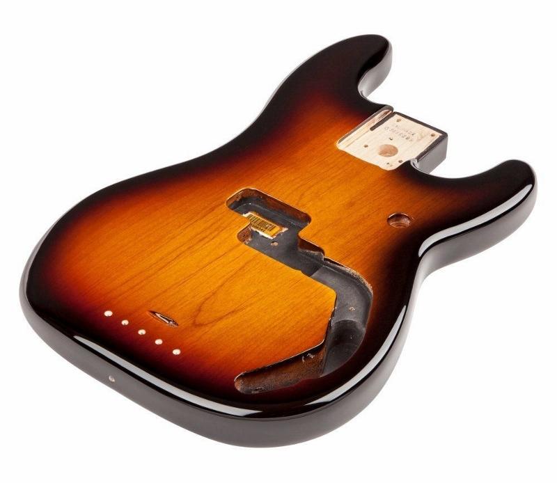 【レビューを書いて次回送料無料クーポンGET】Fender Precision Bass Alder, Brown Sunburst【フェンダー純正パーツ】【新品】