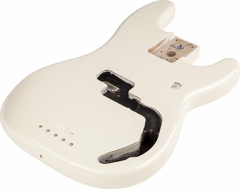 【レビューを書いて次回送料無料クーポンGET】Fender Precision Bass Alder, Arctic White【フェンダー純正パーツ】【新品】